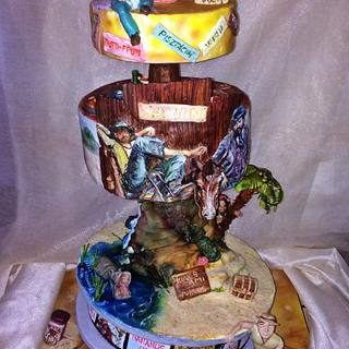 Bud Spencer and Terence Hill Cake - Cake by EmyCakeDesign