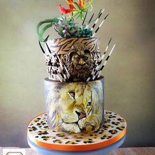African Birthday Cake