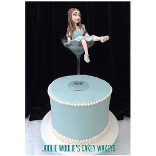 Champagne Sarah! - Cake by Julie White