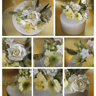 Flowers - Cake by Yuri