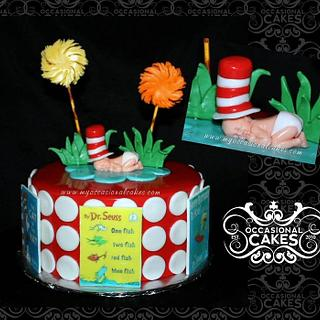 Dr. Seuss Themed baby shower cake  - Cake by Occasional Cakes