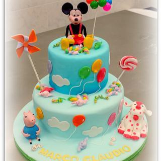 TOPOLINO !!! - Cake by La Torteria di Polly Dì