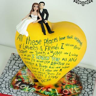 Cuties Street Art Cake Collaboration