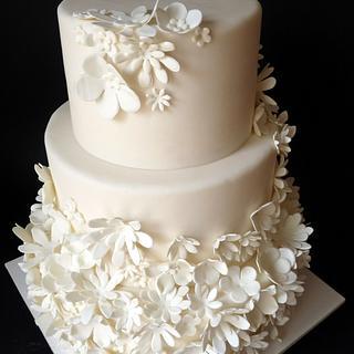 Wedding cake - Cake by Clara