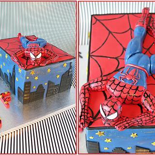 Spiderman cake :-) - Cake by Ewa