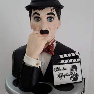Sculpture Charlie Chaplin