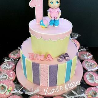 Cake for Ema - Cake by KamiSpasova