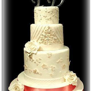 WEDDING CAKE - Cake by La Torteria di Polly Dì
