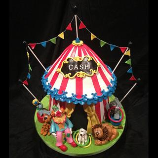 Under The Big Top - Cake by Kerri Morris
