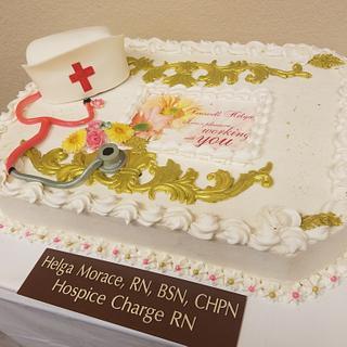 Nurse Farewell Cake
