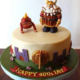 Warhammer Cake