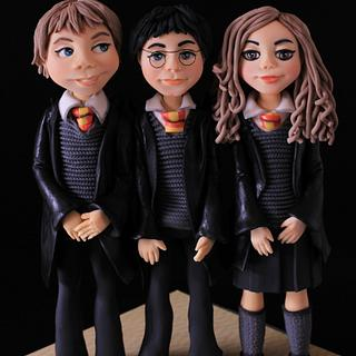 Ron, Harry & Hermione - CPC Hogwarts challenge 2017