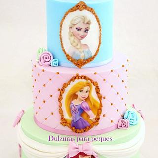 Princess cake - Cake by Romina Haiek