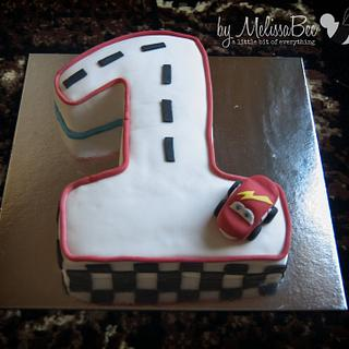 Cars 1 - Cake by Melissa Marthe
