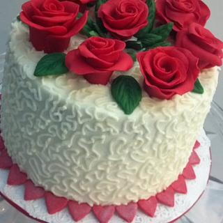 Rose Cornelli Cake
