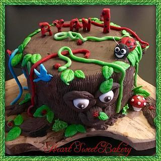 Tree cake  - Cake by Heart
