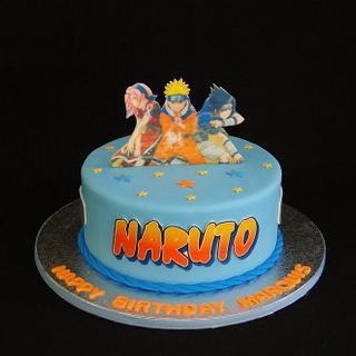 Peachy Naruto Cake 20 Cakes Cakesdecor Personalised Birthday Cards Sponlily Jamesorg