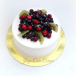 Berry Berry Birthday Cake