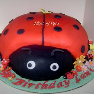 Pretty Ladybird Cake