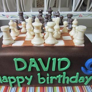 Chess Cake w/ chocolate pieces