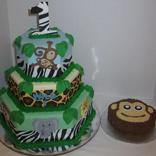 Jungle 1st Birthday