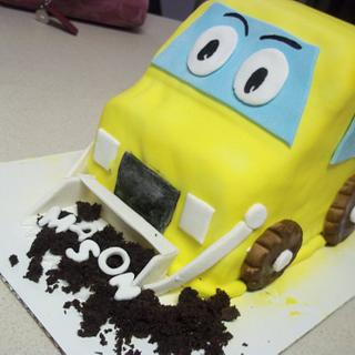 Front End Loader Cake  - Cake by cakes by khandra