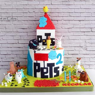 The Secret life of pets cake...