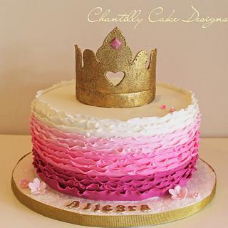 Princess cake - Cake by Chantilly Cake Designs - Beth Aguiar