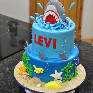 Shark cake - Cake by Cakes For Fun