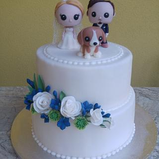 Funko Pop Vinyl wedding cake