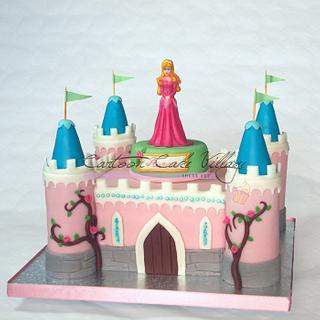 Sleeping Beauty little castle