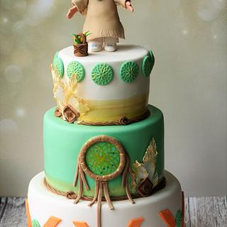 Indian Princess - Cake by Magda's cakes