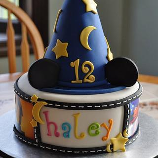Disney Fantasmic - Cake by Mary