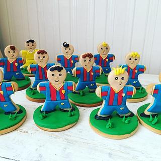 Barcelona cookies  - Cake by Martina Encheva