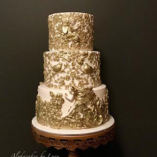 Fairy bas-relief cake ✨🧚♀️
