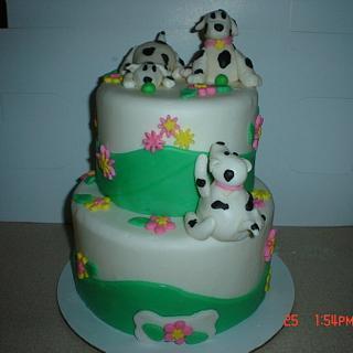 Puppy Dog Playtime - Cake by Dana