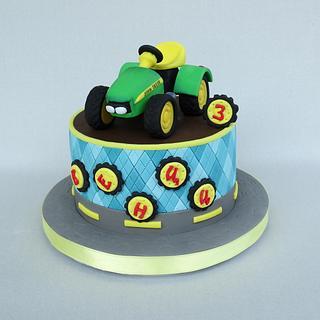 John Deere tractor - Cake by Diana
