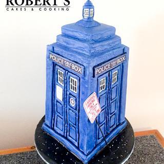 Tardis cake - Cake by Robert Harwood