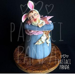 Bunny baby - Cake by Pastacı Panda