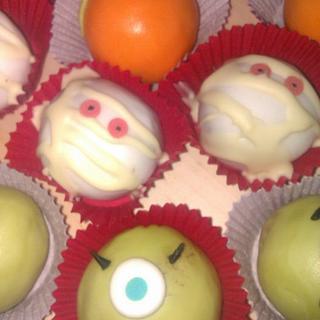 Halloween Cake Bites - Cake by Cath