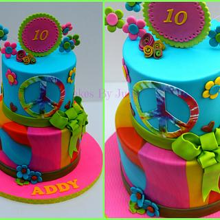 70's Birthday Cake - Cake by Cakes By Julie