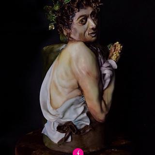 Bacchino malato Caravaggio - Francesca Speranza Sugar Artist
