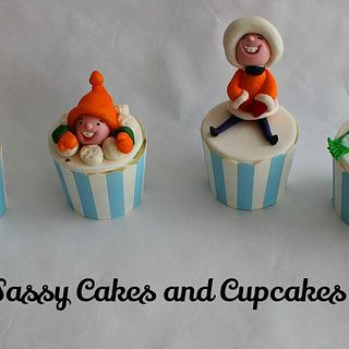 Fun in the Snow - Cake by Sassy Cakes and Cupcakes (Anna)