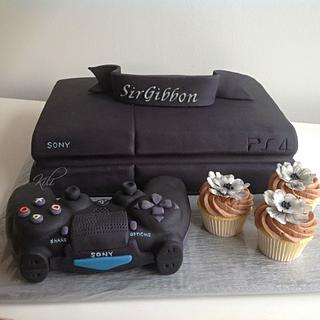 Gaming console - Cake by kili
