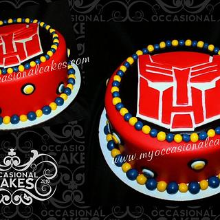 Autobots Birthday Cake