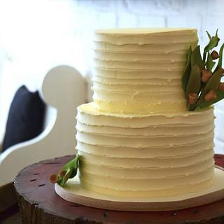 Aussie Bush Wedding Cake