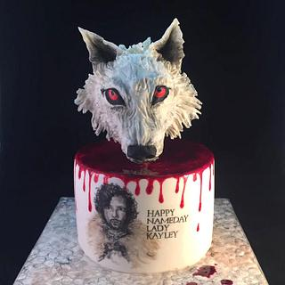 Thirty is Coming - Hand Painted Game  of Thrones Cake