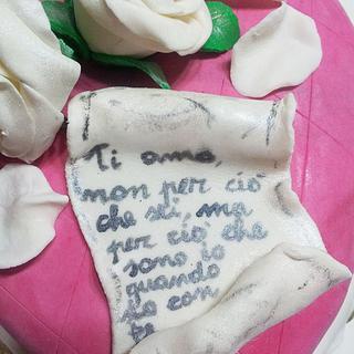 A romantic heart - Cake by Le torte di Ci