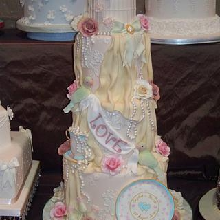 New wedding cake