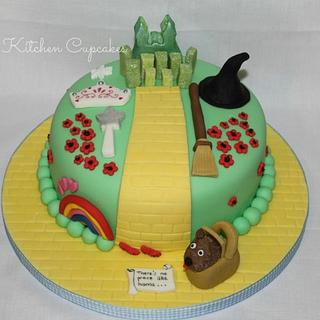 Wizard of Oz themed Cake - Cake by Mandy Morris